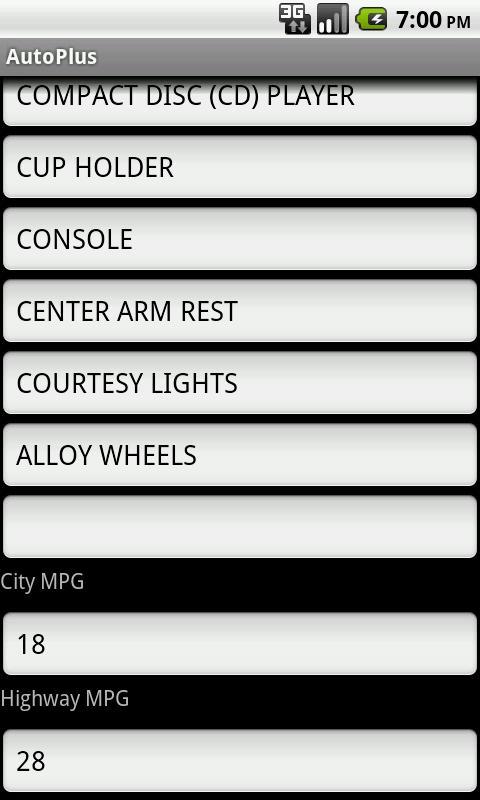 AutoPlus- screenshot