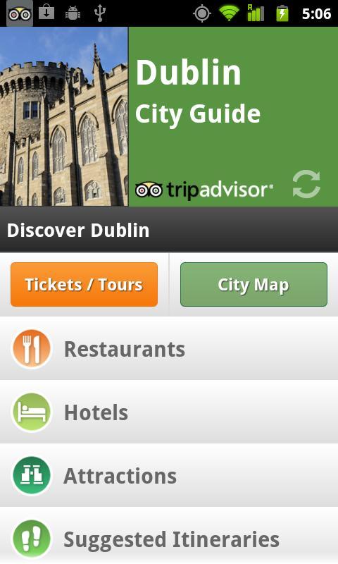 Dublin City Guide screenshot #1