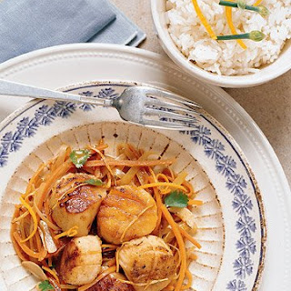 Orange Flavored Scallops Recipe