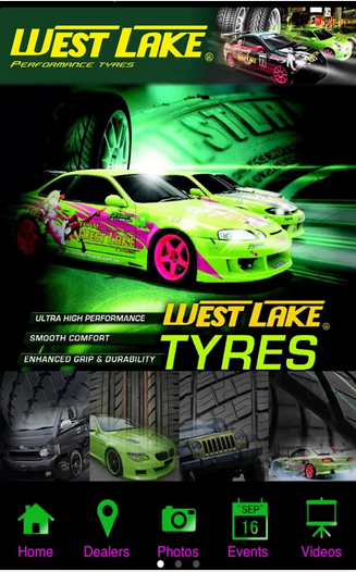 Westlake Tyres - screenshot