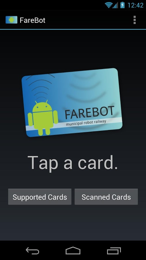 FareBot- screenshot