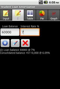 student loan amortization