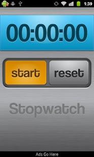 Stopwatch Demo- screenshot thumbnail