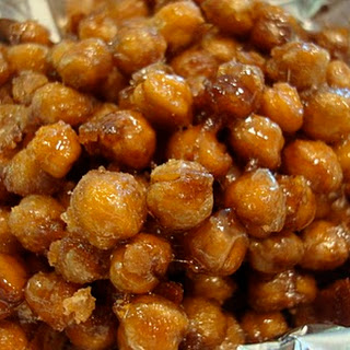 Carmelized Cinnamon Sugar Roasted Chickpea Peanuts