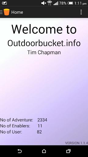 Outdoor Adventure Bucket List
