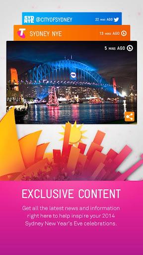 2014 Sydney New Year's Eve App