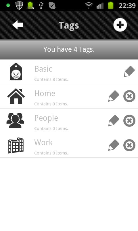 Sh!tlist Pro- screenshot