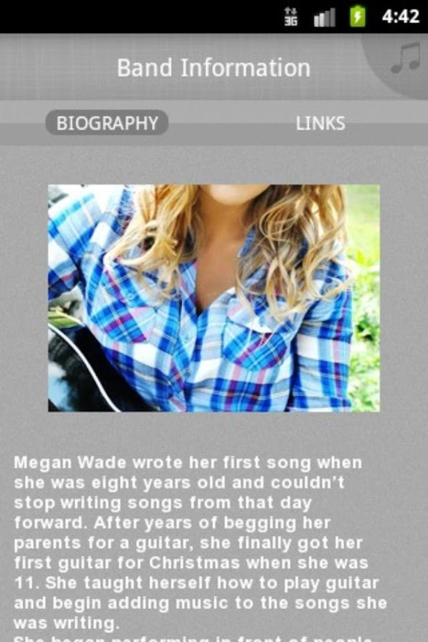 Megan Wade - screenshot