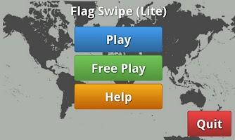 Screenshot of Flag Swipe (Lite)