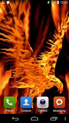 Firebird. Burning Eagle.