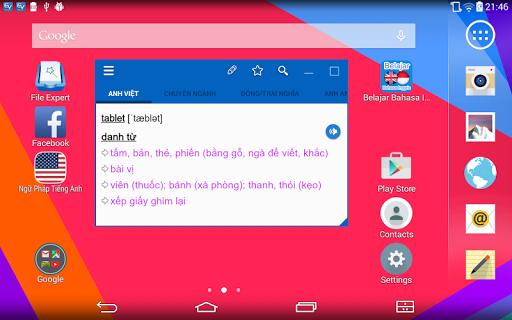English Vietnamese Dictionary TFlat 6.8.5 screenshots 9