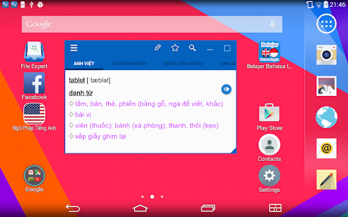 Download English Vietnamese Dictionary TFlat For PC Windows and Mac apk screenshot 9