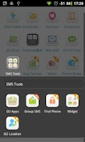 Screenshot of GO SMS Group sms plug-in 3