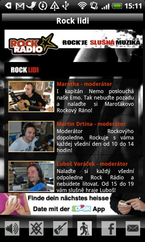 Rock Radio CZ- screenshot