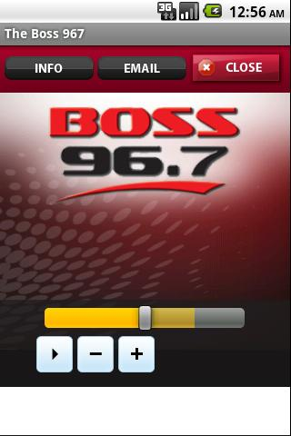 The Boss 967 - screenshot