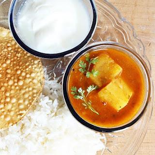 Kanda Gadda Pulusu , Yam Curry