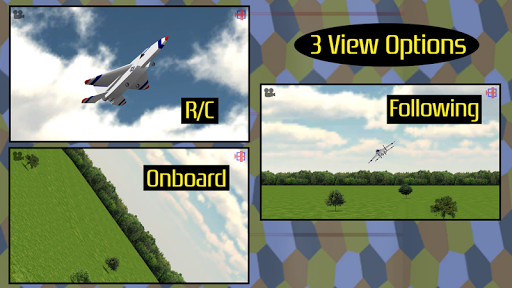 RC-AirSim - RC Model Plane Sim APK 1.01 screenshots 3