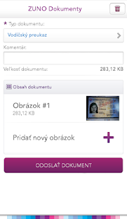 ZUNO Dokumenty- screenshot thumbnail