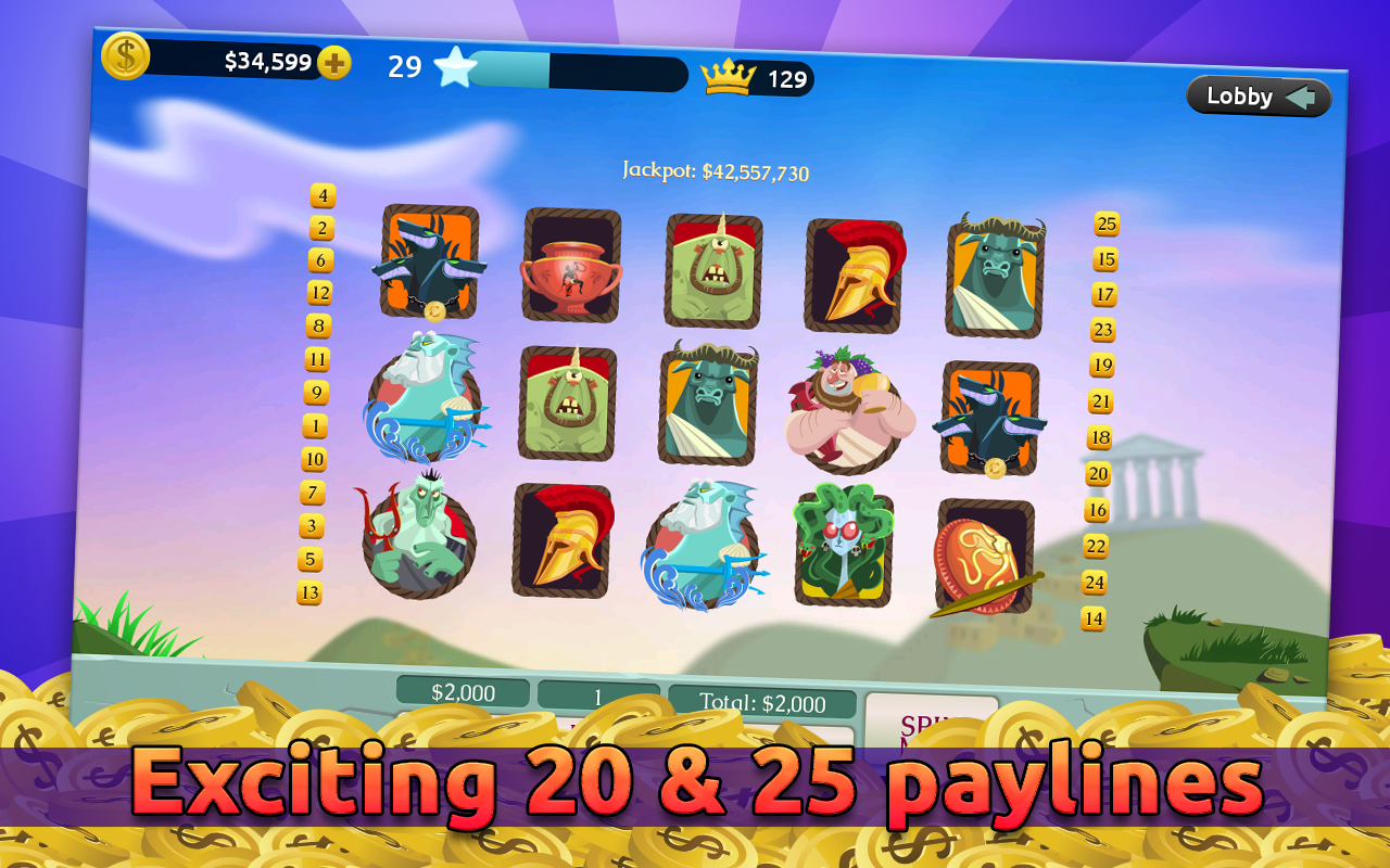 Best Casino - Slot Machines - screenshot
