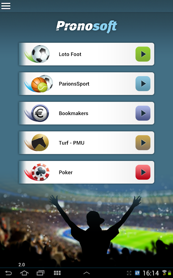 Pronosoft - screenshot