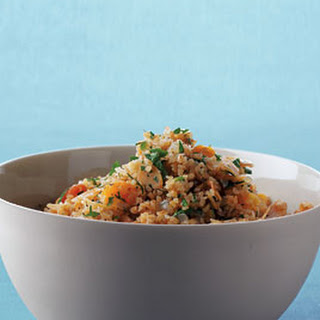 Bulgur with Apricots and Almonds Recipe