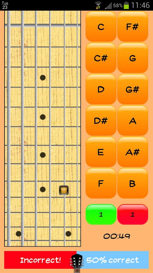 Fretbuster - screenshot