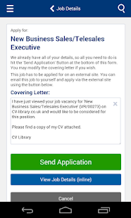 CV-Library Job Search - screenshot thumbnail