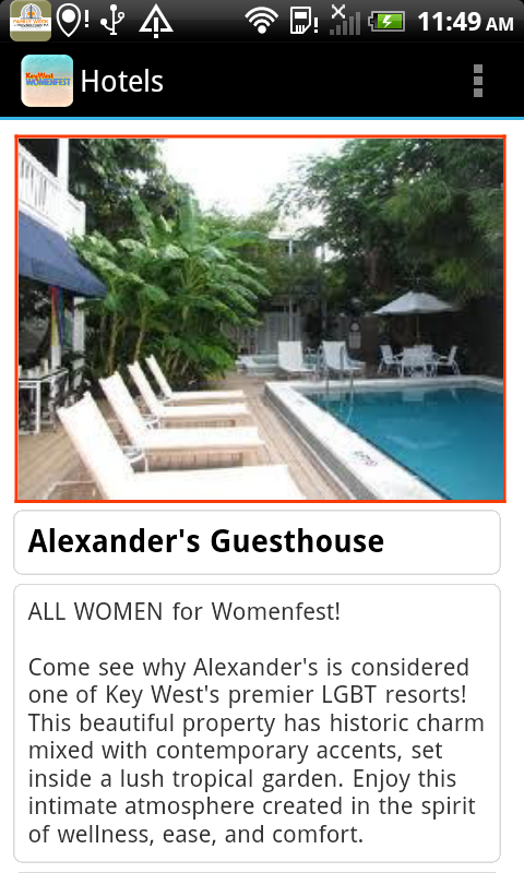 Womenfest Key West- screenshot