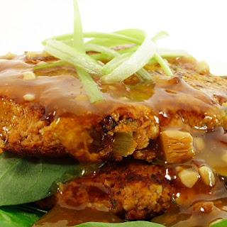 Shiitake, Sweet Potato and Zucchini Foo Yung Recipe