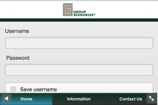 Group Resources Mobile