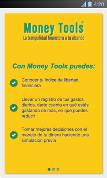 Money Tools- screenshot