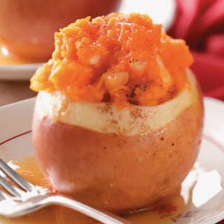 Squash-Stuffed Baked Apples Recipe