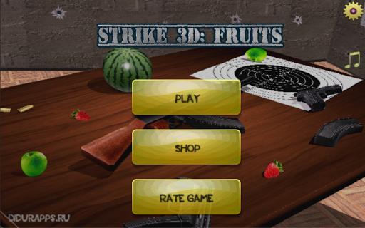 Strike 3D Fruits
