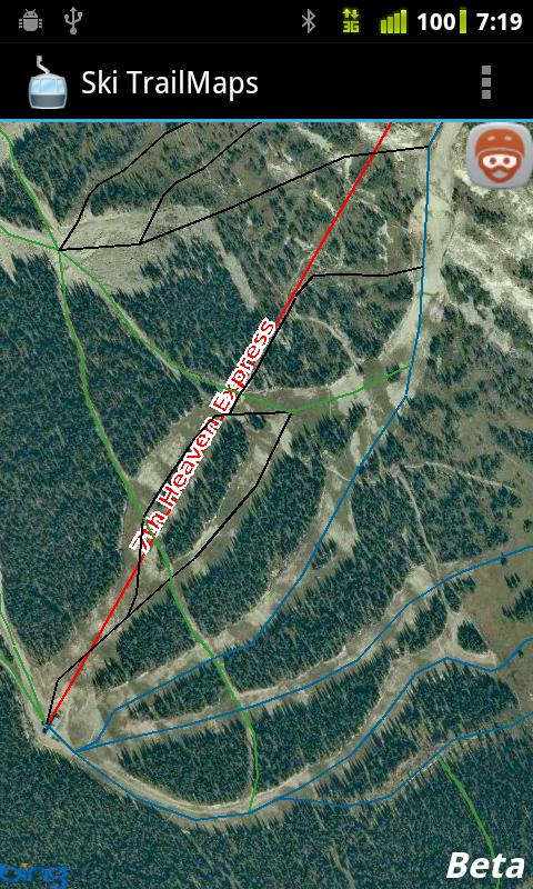 Ski TrailMaps Pro- screenshot