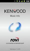 Screenshot of KENWOOD Music Info.