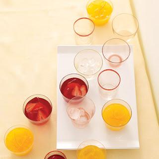 Strawberry Hibiscus-Tea Lemonade.