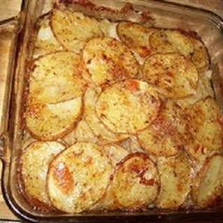 Scalloped Potatoes and Onions.