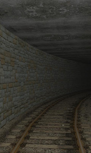 3D Train Tunnel LWP Free