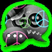 GO SMS - Peace Love