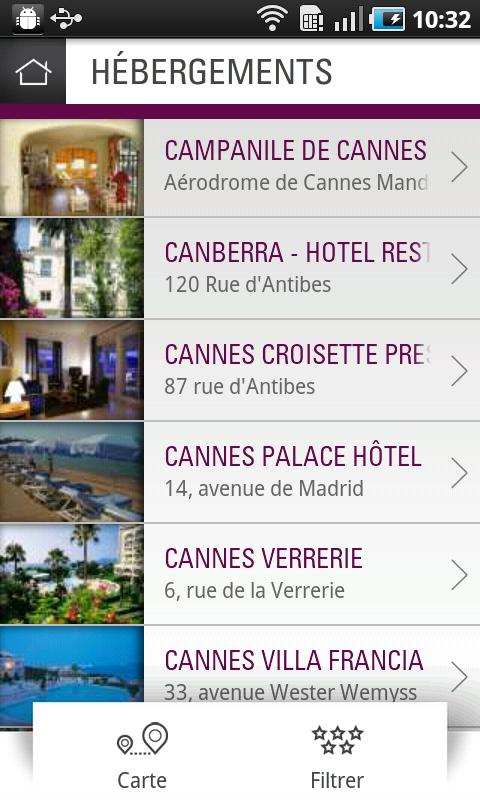 Cannes Is Yours - City Guide- screenshot
