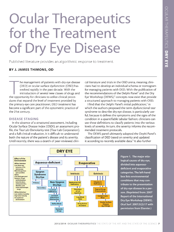 Ocular Therapeutics Guide - screenshot