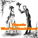 Etiquette Tips & Guide icon