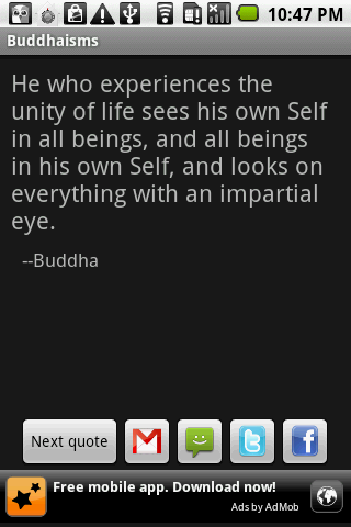 Buddhaisms - screenshot
