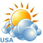 Local weather USA icon