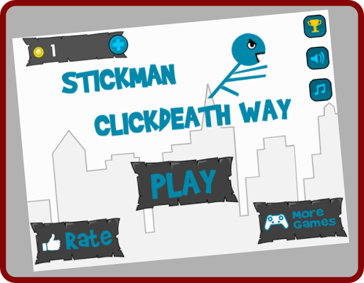 Stickman Clickdeath Way