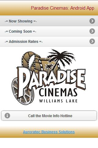 Paradise Cinemas - screenshot