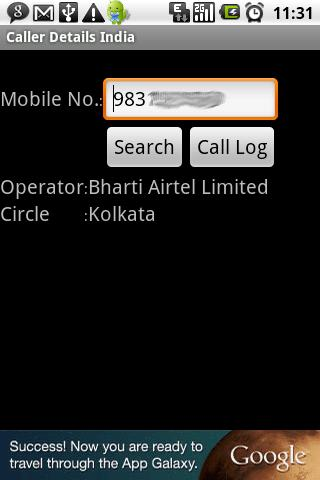 Caller Details India - screenshot