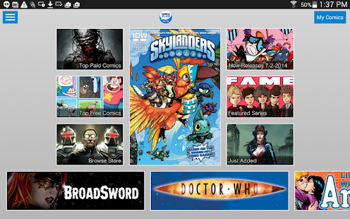 Comics Plus - screenshot thumbnail