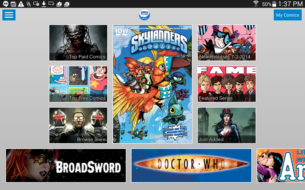 Comics Plus - screenshot