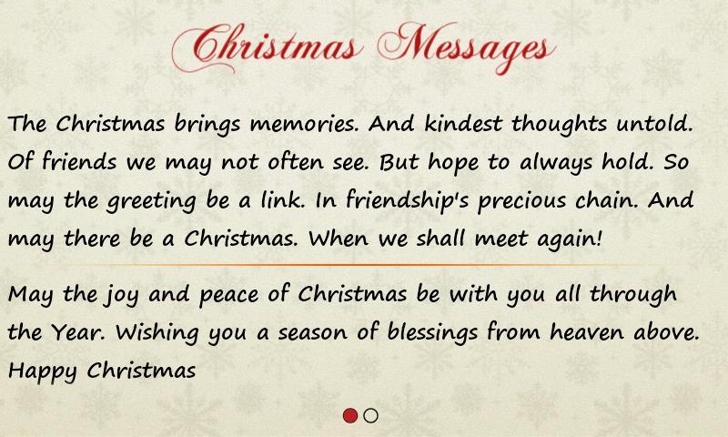 Greetings Xmas And New Year Screenshot
